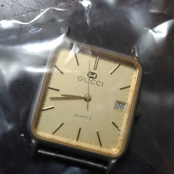 Vintage Gucci Watch Face
